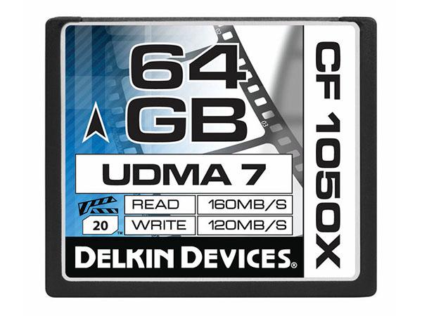 Delkin 64 GB Compact Flash 1050X