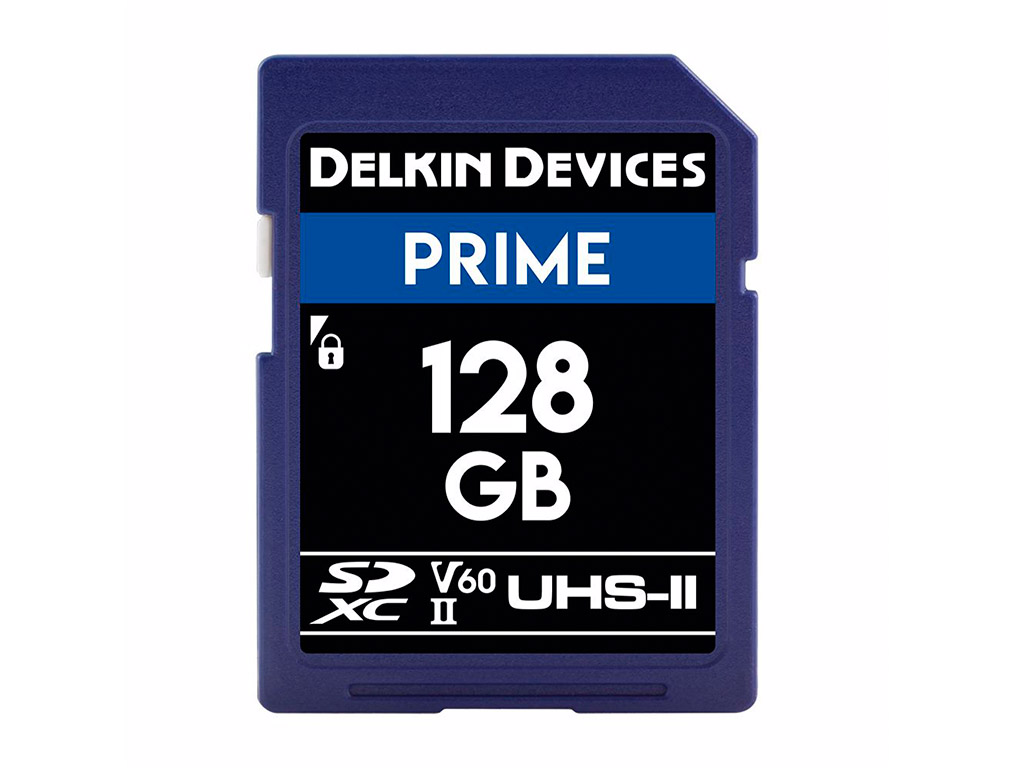 Delkin 128 GB SDXC Prime 2000X UHS-II V60