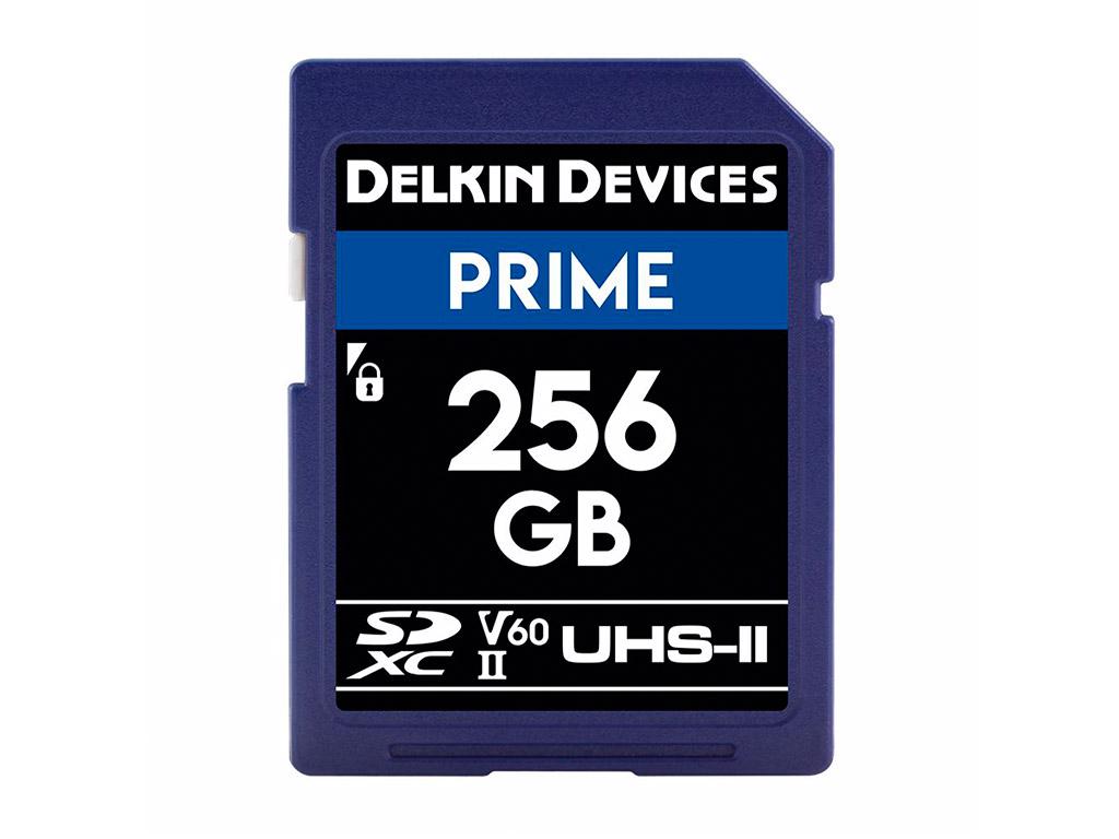 Delkin 256 GB SDXC Prime 2000X UHS-II V60