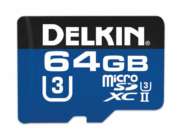 Delkin 64 GB microSDXC Prime 2000X UHS-II (300 MB/s)