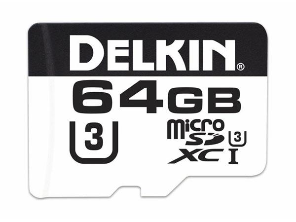 Delkin 64 GB microSD Advantage 660X UHS-I (100 MB/s)