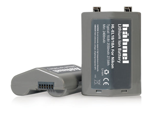 Hähnel HL-EL18 kamerabatteri motsv. Nikon EN-EL18