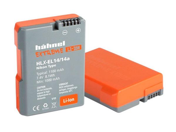 Hähnel Extreme kamerabatteri motsv. Nikon EN-EL14
