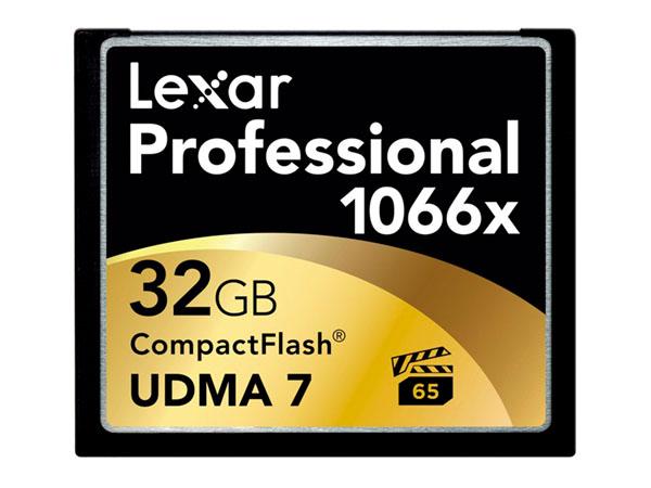 Lexar 32 GB Compact Flash 1066X