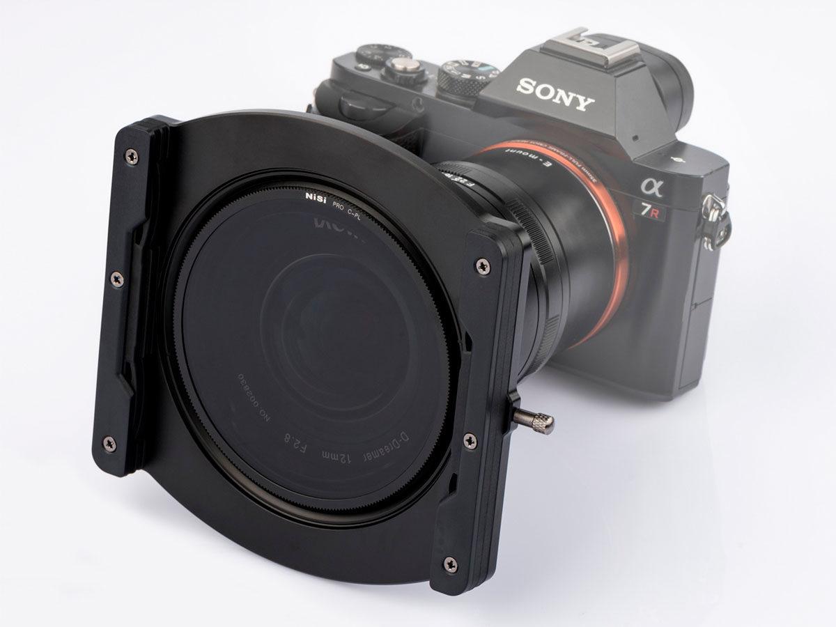 NiSi 100 mm filterhållare för Laowa 12 mm f/2.8