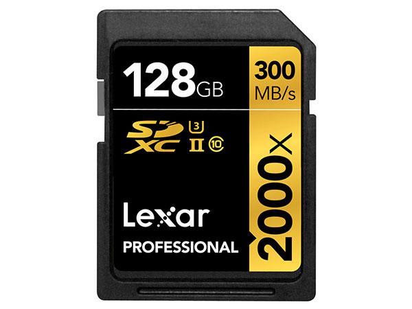 Lexar 128 GB SDXC 2000X UHS-II