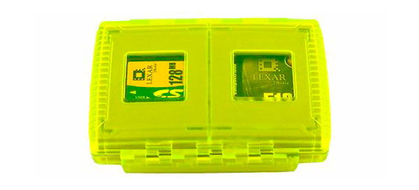 GePe Cardsafe Extreme Neon minneskortförvaring