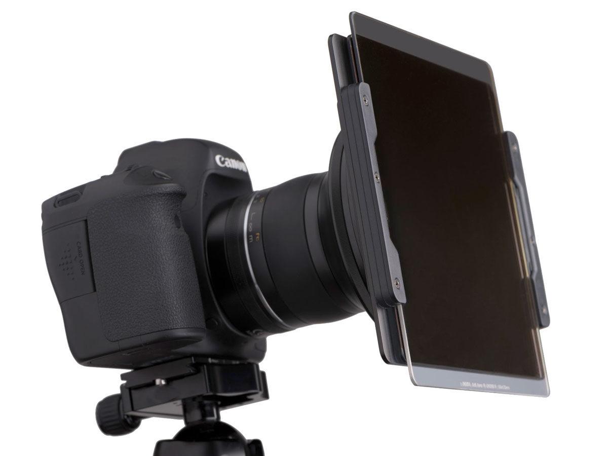 NiSi 150 mm filterhållare för Samyang XP 14 mm f/2.4 med plats för 2 stycken filter