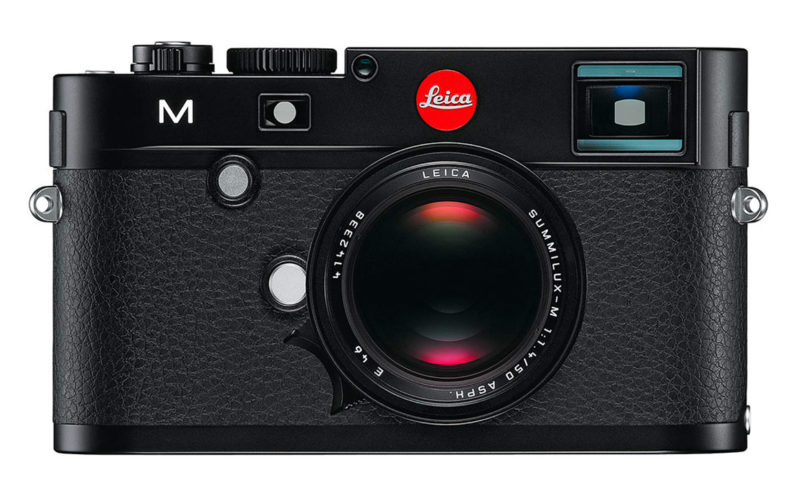 Leica M mätsökarkamera test