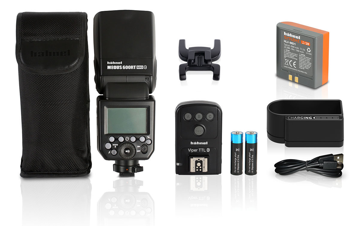 Hähnel Modus 600RT Mk II Wireless kit trådlöst blixtpaket för Olympus & Panasonic Micro Four Thirds-systemet