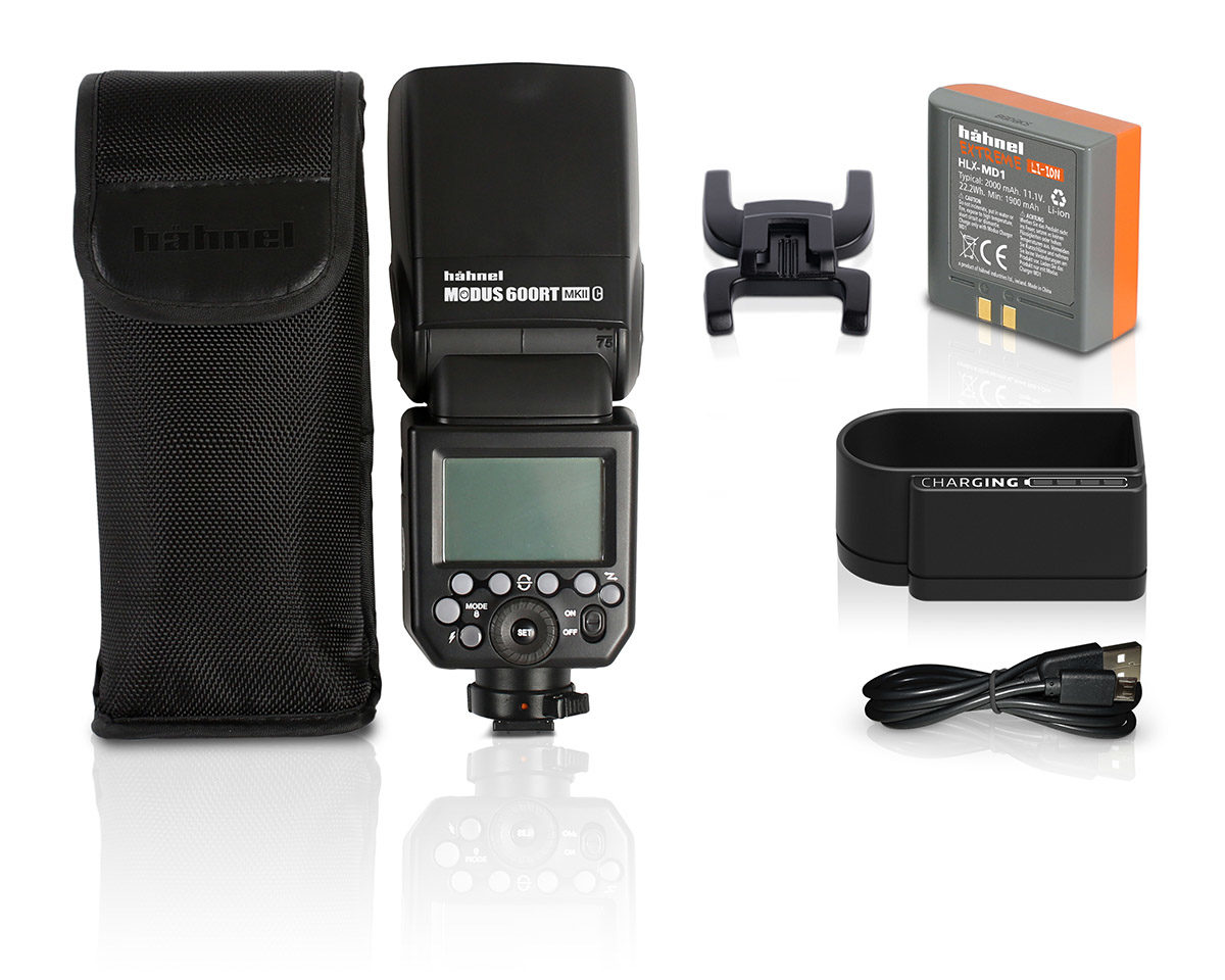 Hähnel Modus 600RT trådlös tillbehörsblixt med radiostyrning passar Fujifilm