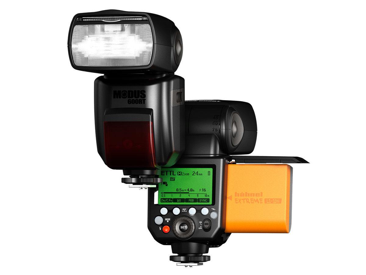Hähnel Modus 600RT trådlös tillbehörsblixt för Canon