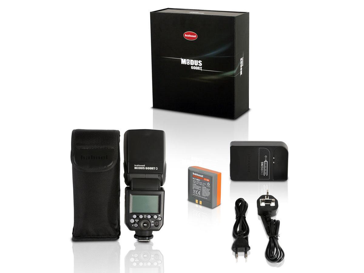 Hähnel Modus 600RT trådlös tillbehörsblixt med radiostyrning passar Sony