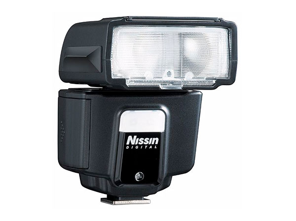 Nissin i40 blixt för Nikon