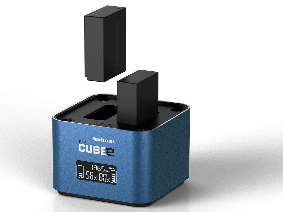 Hähnel Procube 2 batteriladdare för Fujifilm NP-W126 & Fujifilm NP-W126S eller Panasonic kamerabatterier