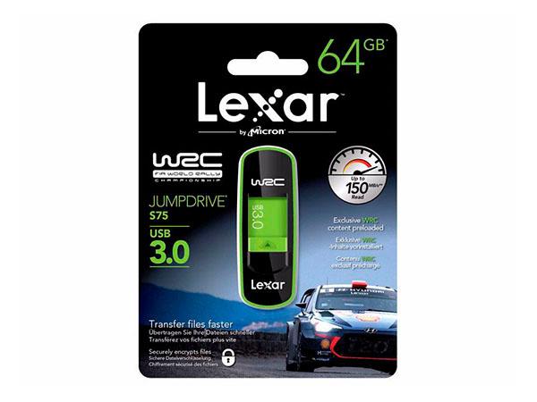 Lexar 64 GB JumpDrive S75 USB 3.0 WRC