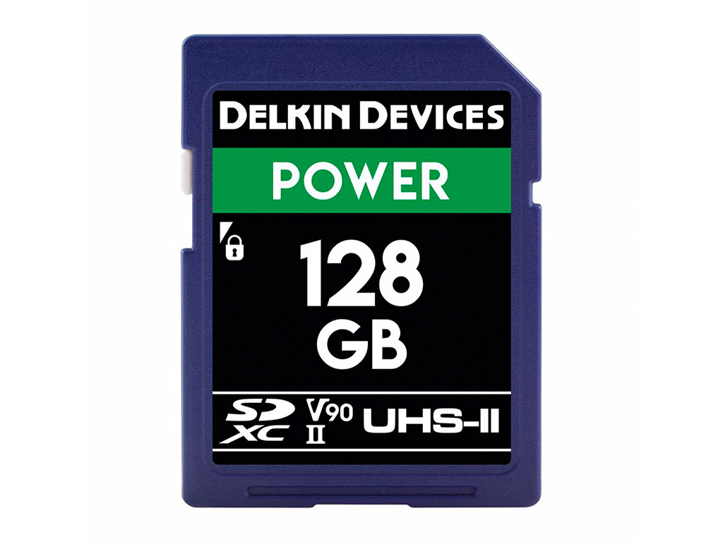 Delkin 128 GB SDXC Power 2000X UHS-II V90