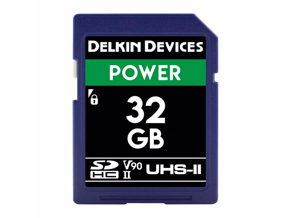 Delkin 32 GB SDHC Power 2000X UHS-II V90