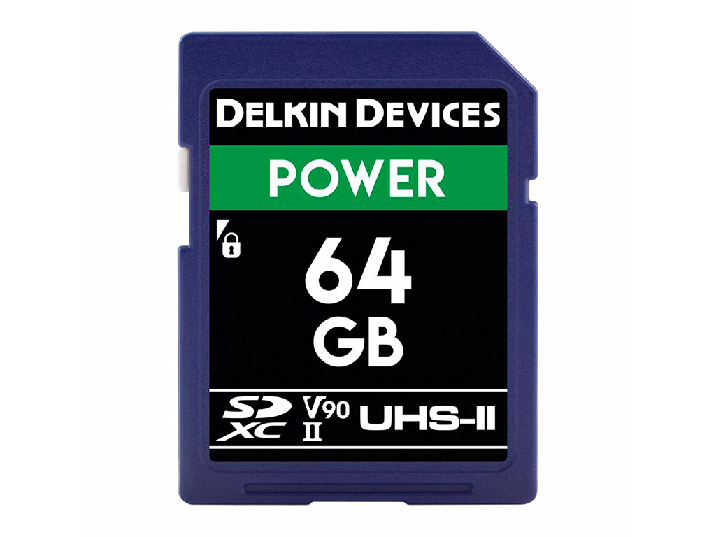 Delkin 64 GB SDXC Power 2000X UHS-II V90