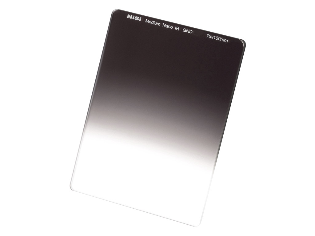 NiSi 75 mm Graduerat ND-filter GND8 Medium (3 steg)