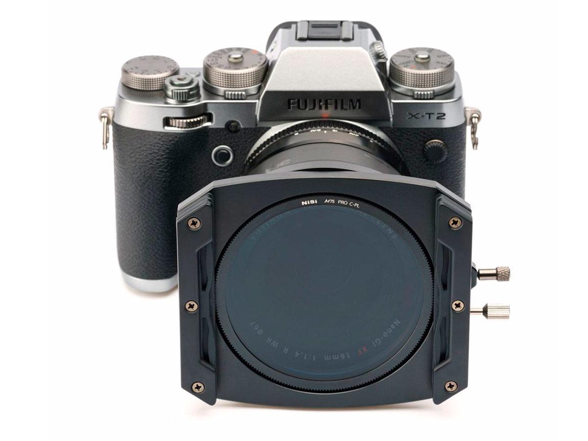 NiSi M75 filterhållare för spegelfria spegellösa kompakta kameror som Fujifilm, Sony, Canon EOS M, Olympus och Panasonic
