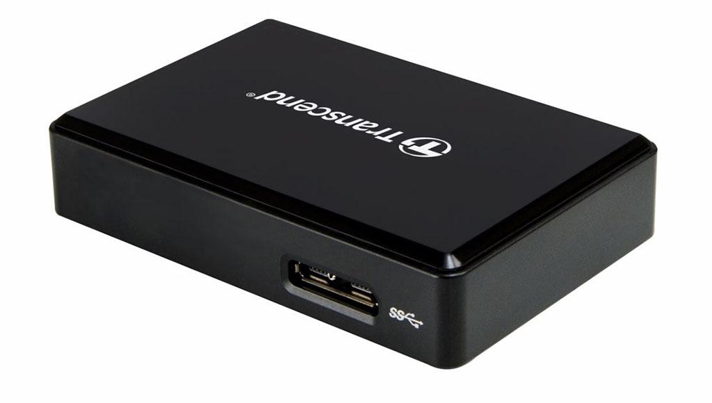 kortläsare Transcend RDF9 minneskortläsare för Compact Flash CF SD microSD kort