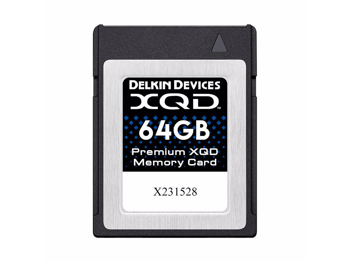 Delkin 64 GB Premium XQD 2933X