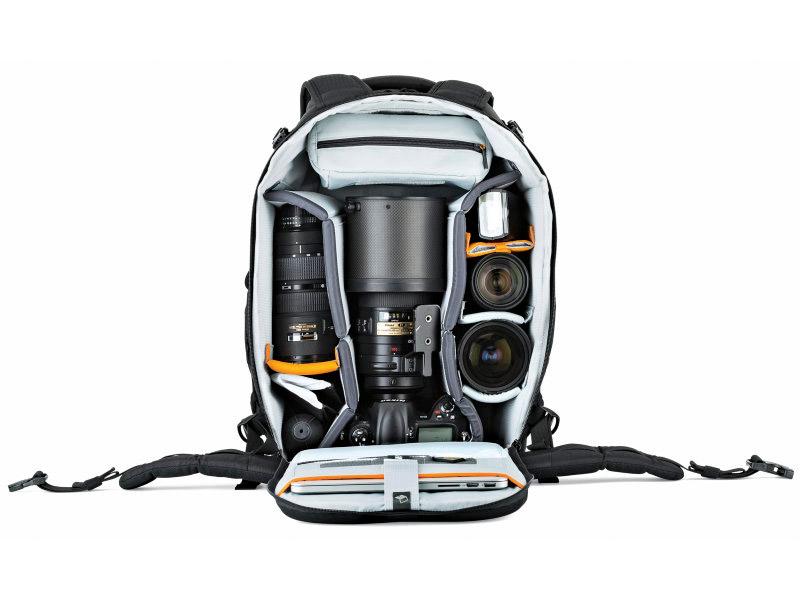Lowepro Flipside 500 AW II kameraryggsäck för naturfotografering och sportfotografering