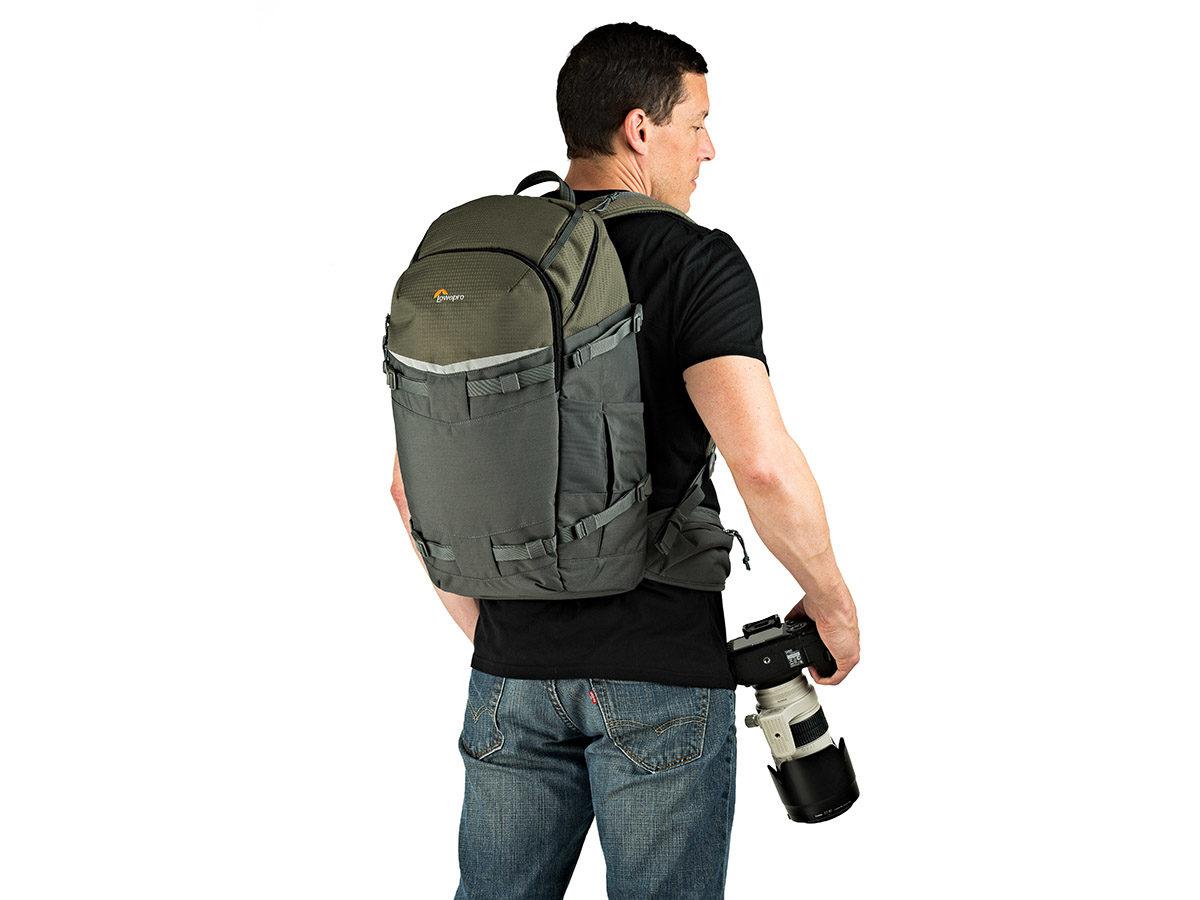 Lowepro Flipside Trek BP 450 AW kameraryggsäck för naturfotografering