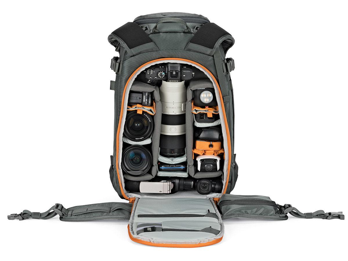 Lowepro Whistler BP 350 AW II ryggsäck för fotografering och videofilmning