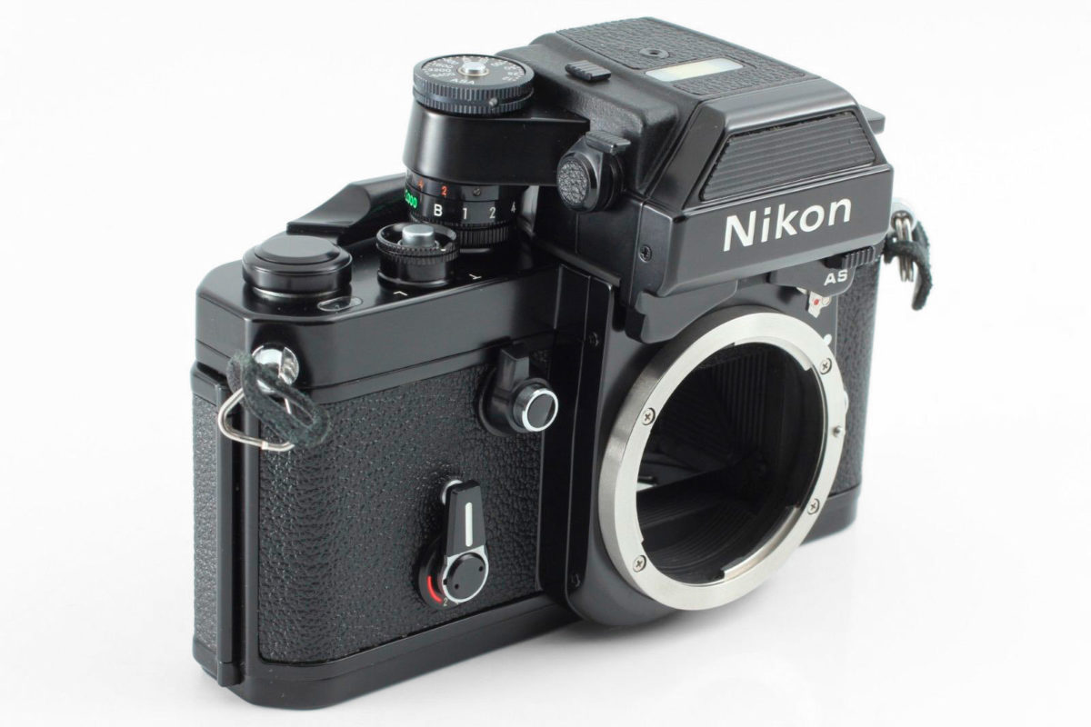 Nikon F2 Photomic AS test
