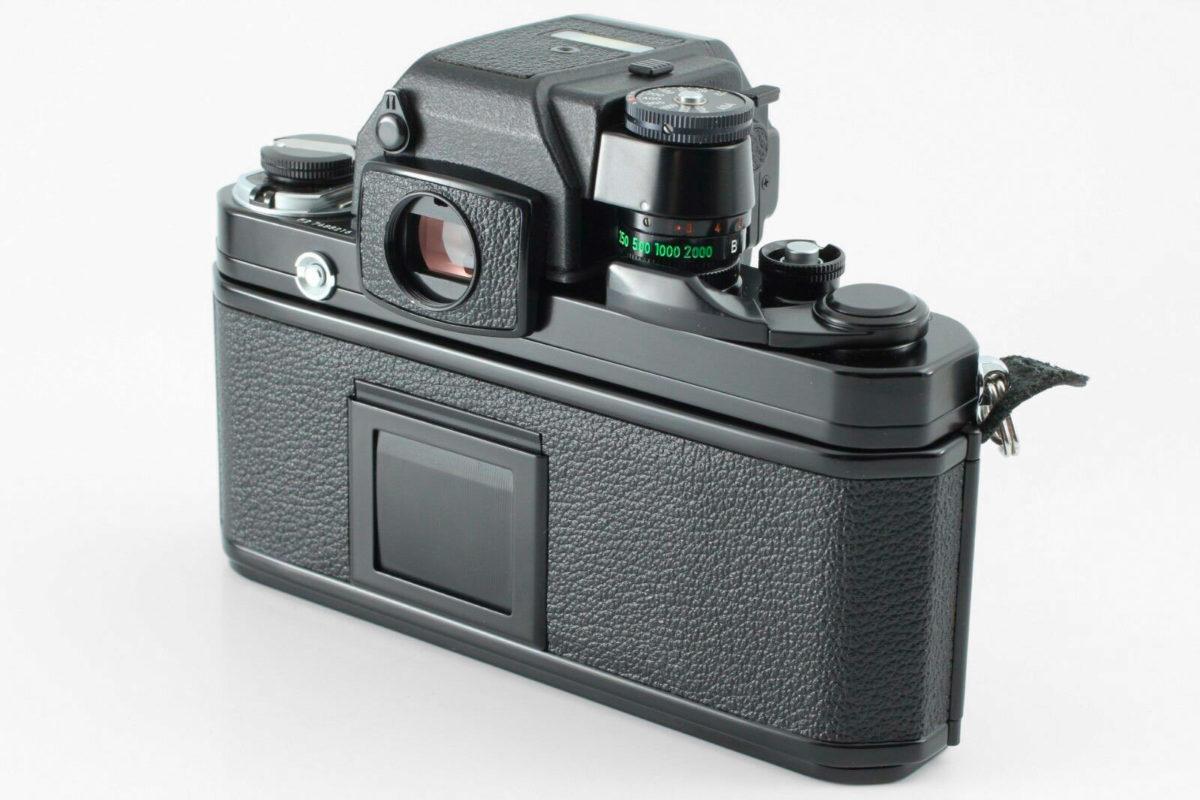 Nikon F2AS manuell goding med tyngd