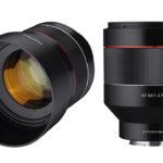 Samyang AF 85 mm f/1,4 FE – nytt porträttobjektiv för Sony