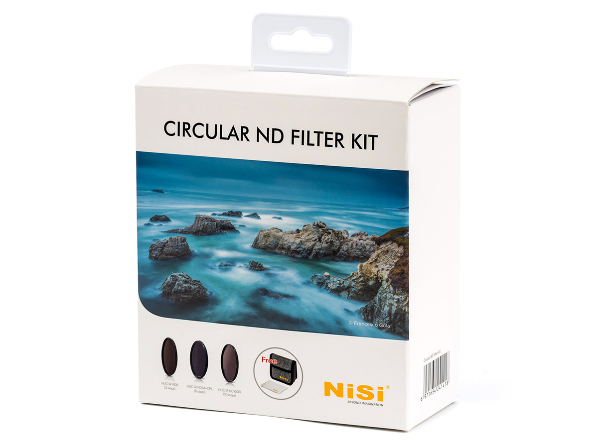 NiSi ND-filter kit (3 filter & väska) 77 mm