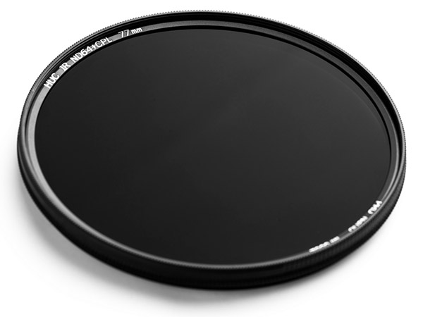 NiSi ND64+CPL Nano Pro HUC kombinationsfilter ND-filter 6 steg samt polarisationsfilter
