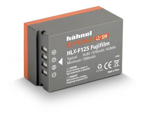 Hähnel Extreme HLX-F125 batteri motsvarande Fujifilm NP-T125 för Fujifilm GFX-50R, GFX-50S och GFX-100