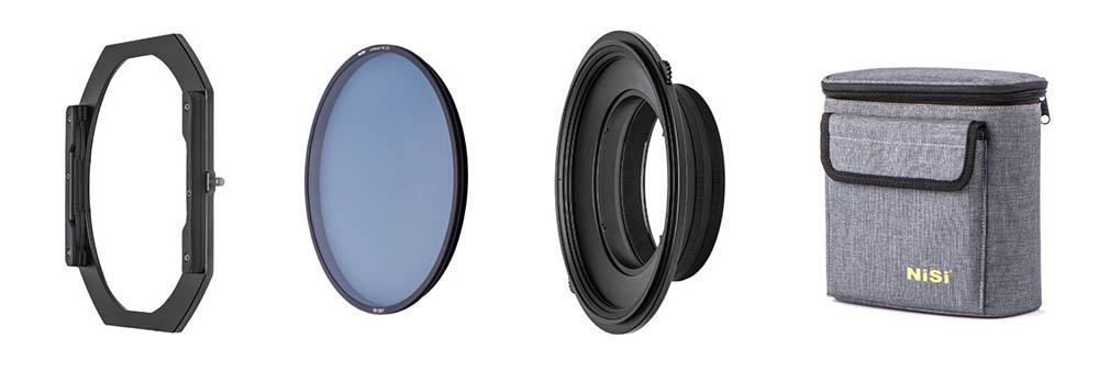 NiSi S5 filterhållare för 150 mm filter, inklusive polarisationsfilter och väska