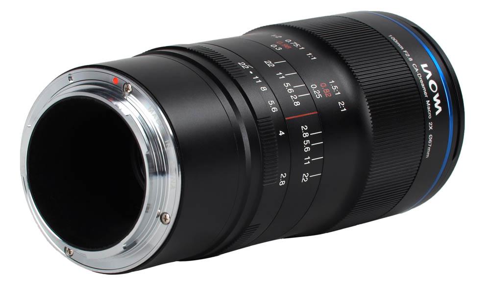 Laowa 100mm f/2.8 2x Ultra Macro APO för Canon RF-fattning