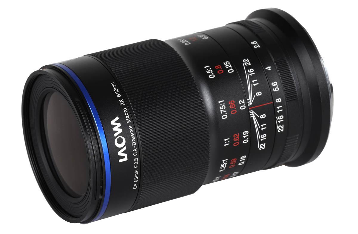 Laowa 65mm f/2.8 2x Ultra Macro APO för EOS M kameror med Canon EF-M fattning APS-C