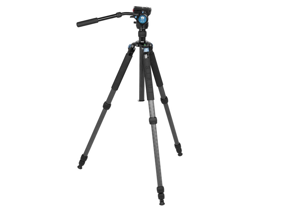 Kolfiberstativ Sirui R-2214X + videohuvud VH-10