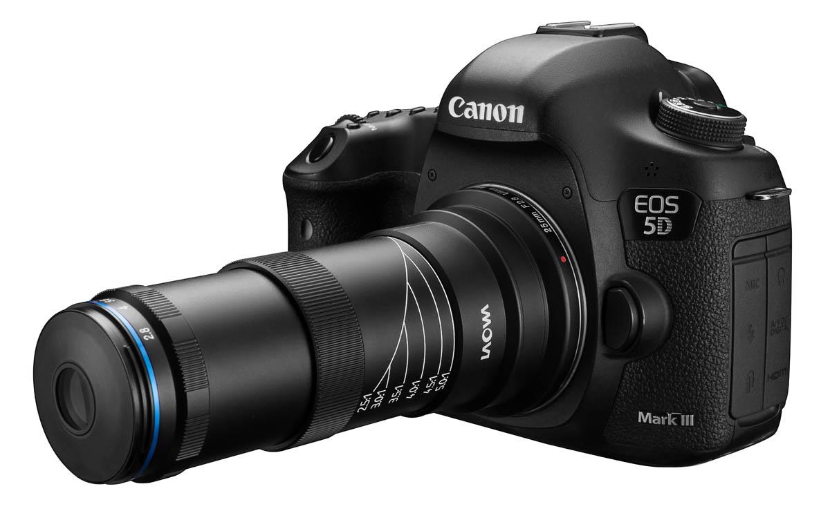 Laowa 25mm f/2.8 2.5-5x Ultra Macro - Canon EF