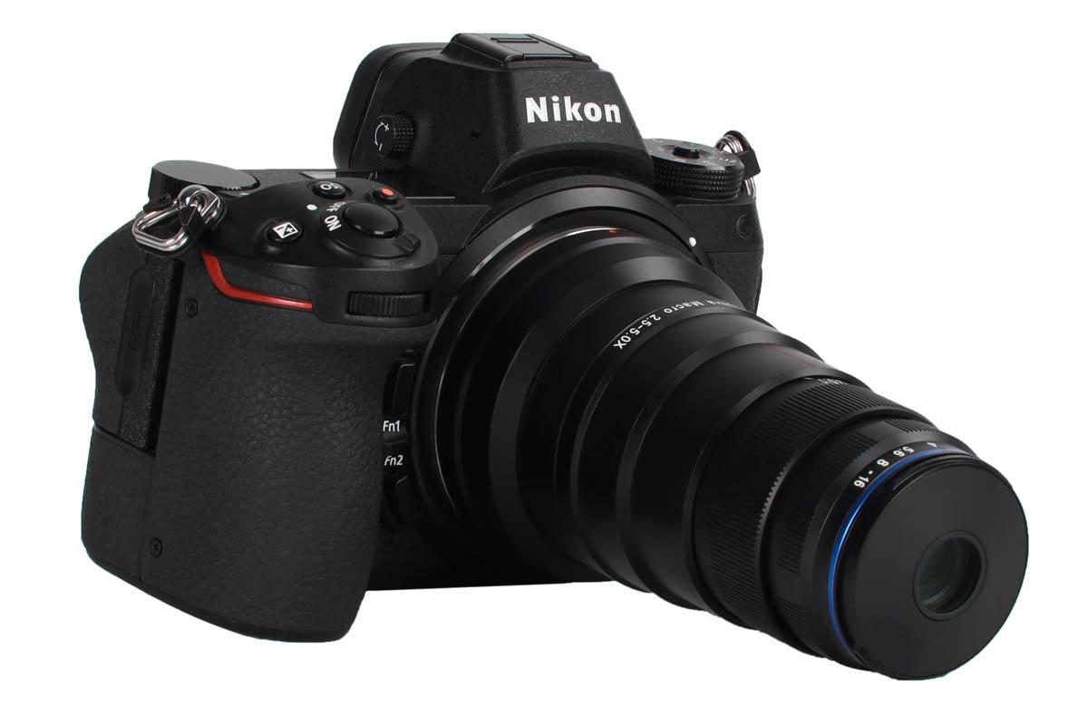 Laowa 25mm f/2.8 2.5-5x Ultra Macro Nikon Z fattning