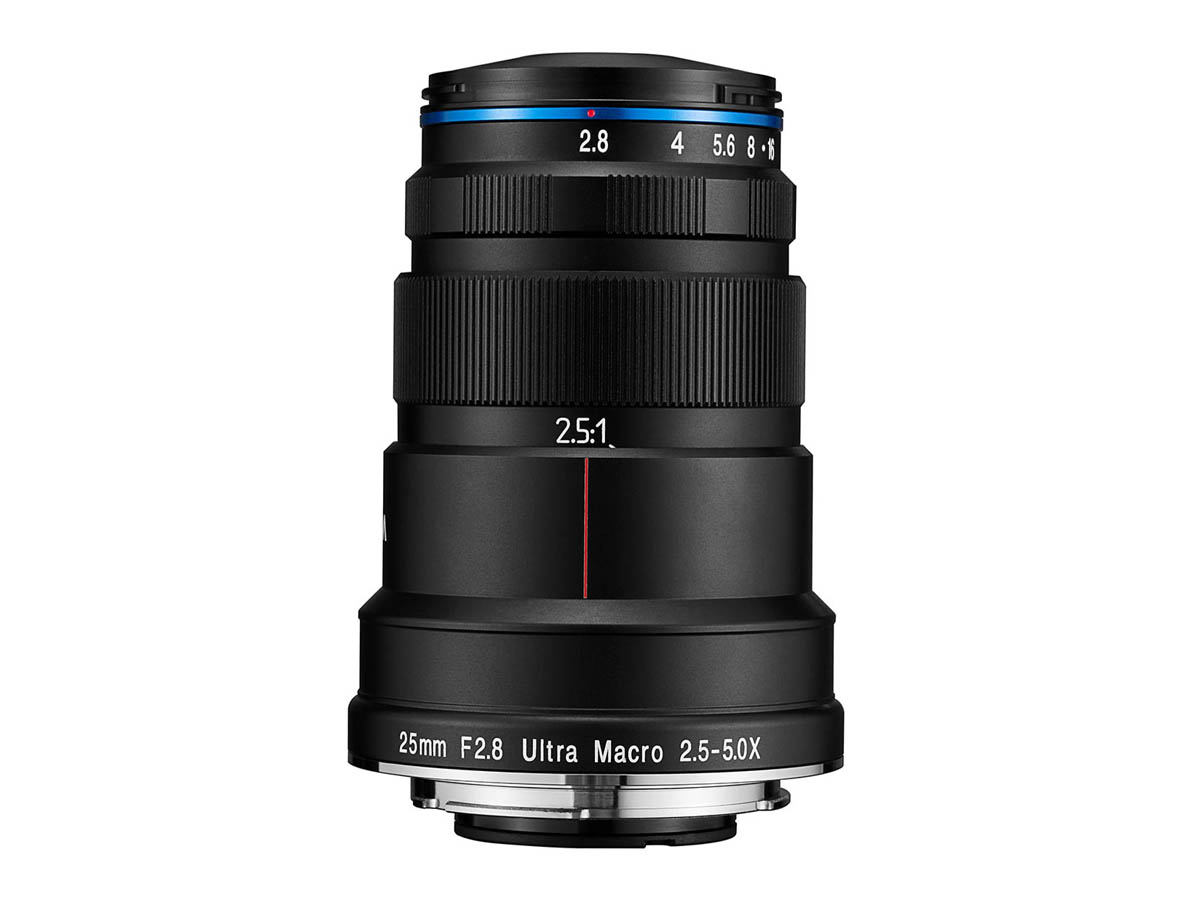 Laowa 25mm f/2.8 2.5-5x Ultra Macro – Sony FE