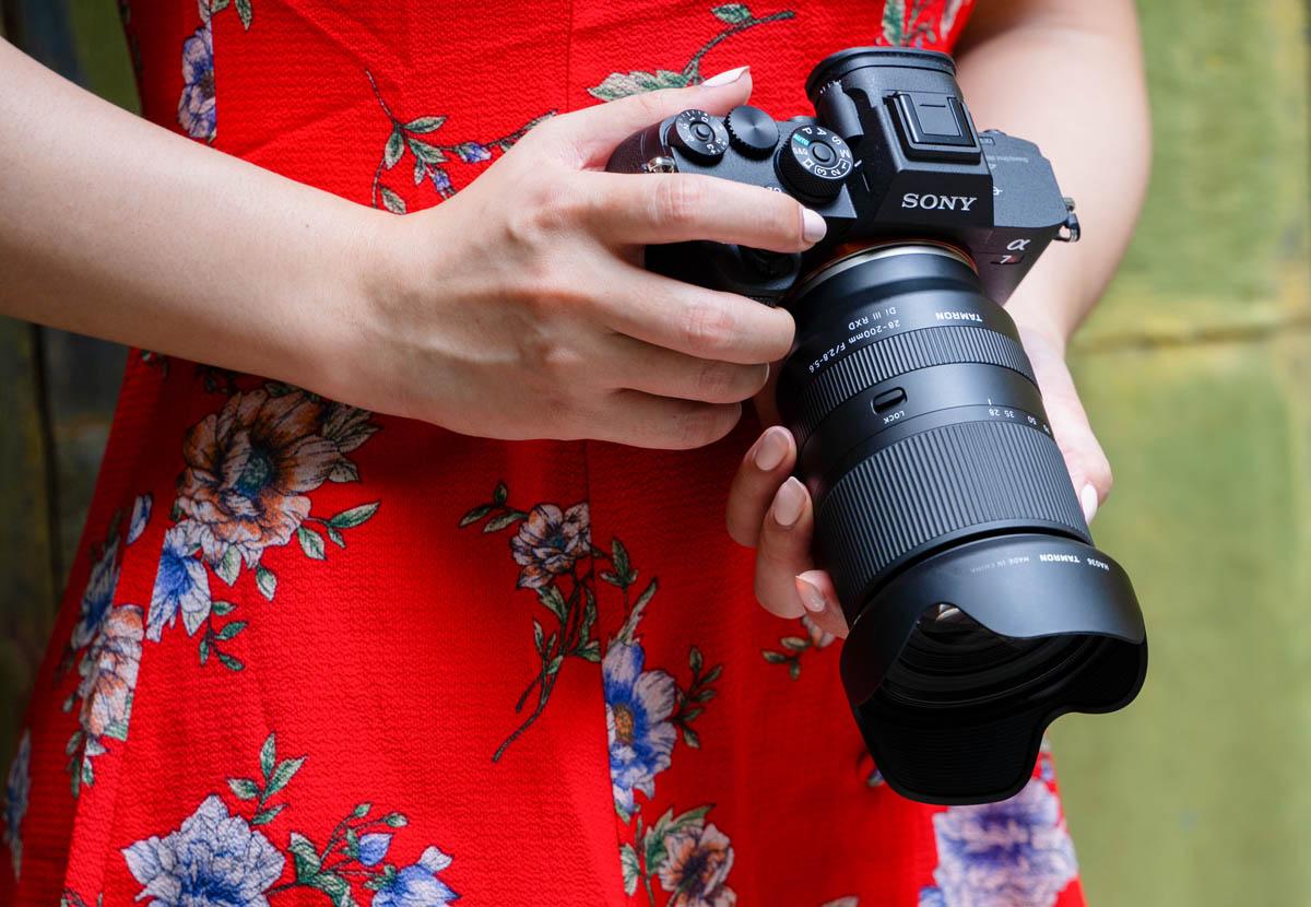 Tamron 28-200 mm f/2.8-5.6 Di III RXD för Sony E-fattning fullformat