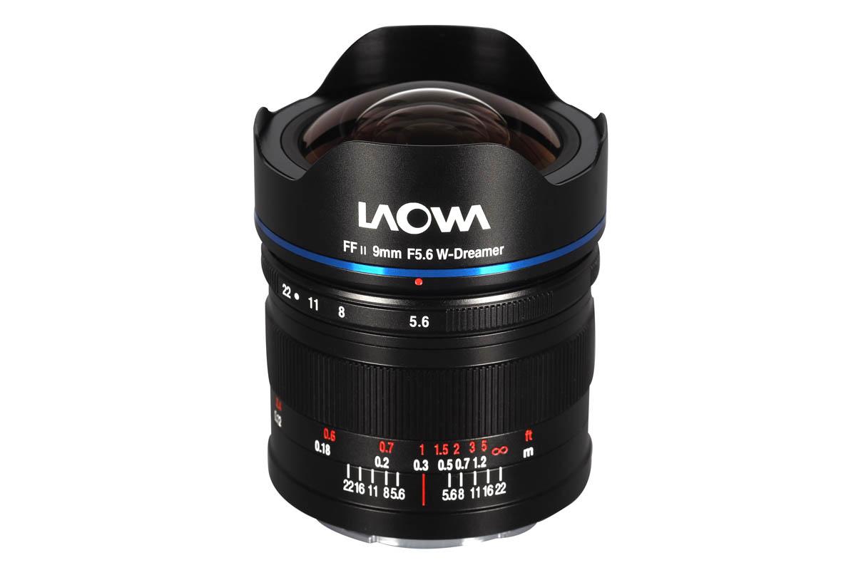 Laowa 9 mm f/5.6 FF RL raktecknande ultravidvinkel för spegelfria kameror med fullformat
