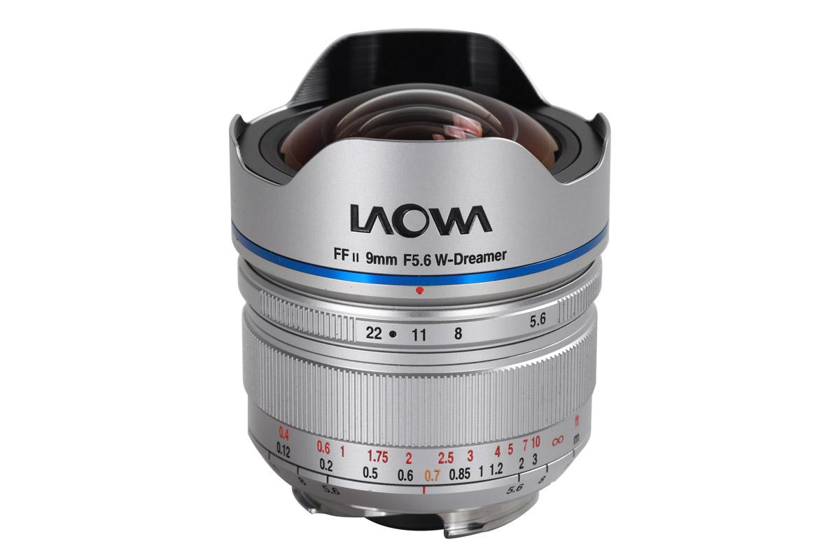 Laowa 9 mm f/5.6 FF RL silver för Leica M fattning