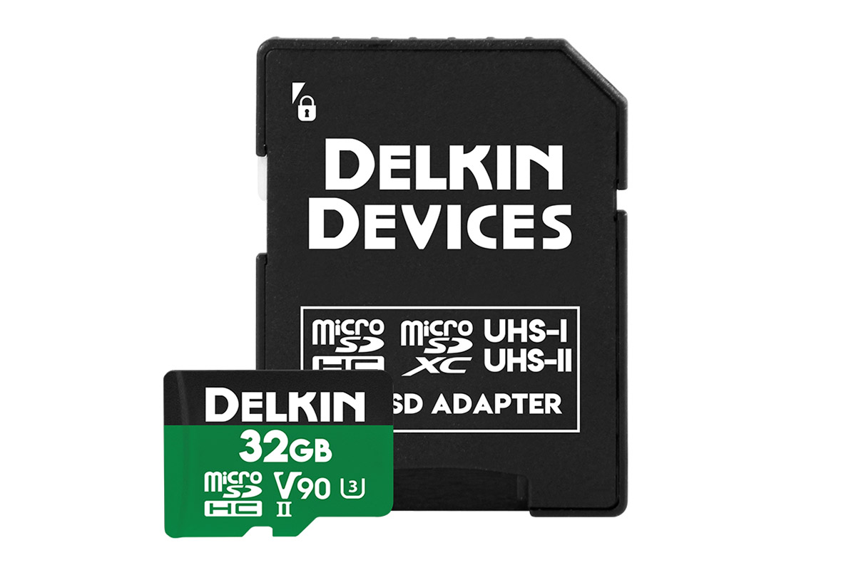 Delkin 32 GB microSDXC Power 2000X UHS-II V90