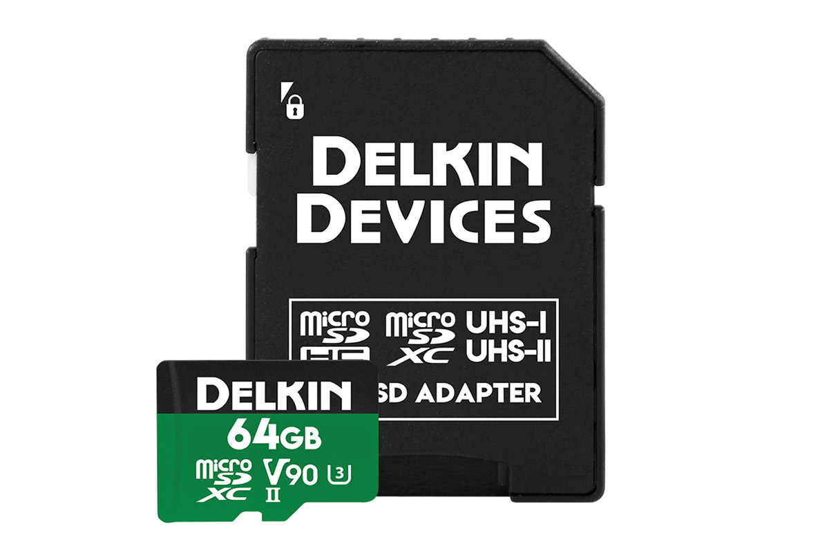 Delkin 64 GB microSDXC Power 2000X UHS-II V90
