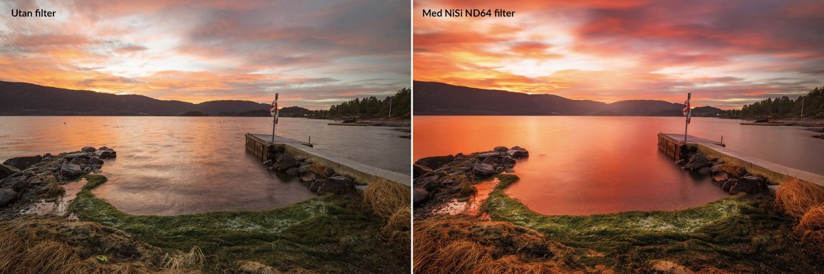 NiSi ND-filter ND64 Pro Nano HUC (6 steg)