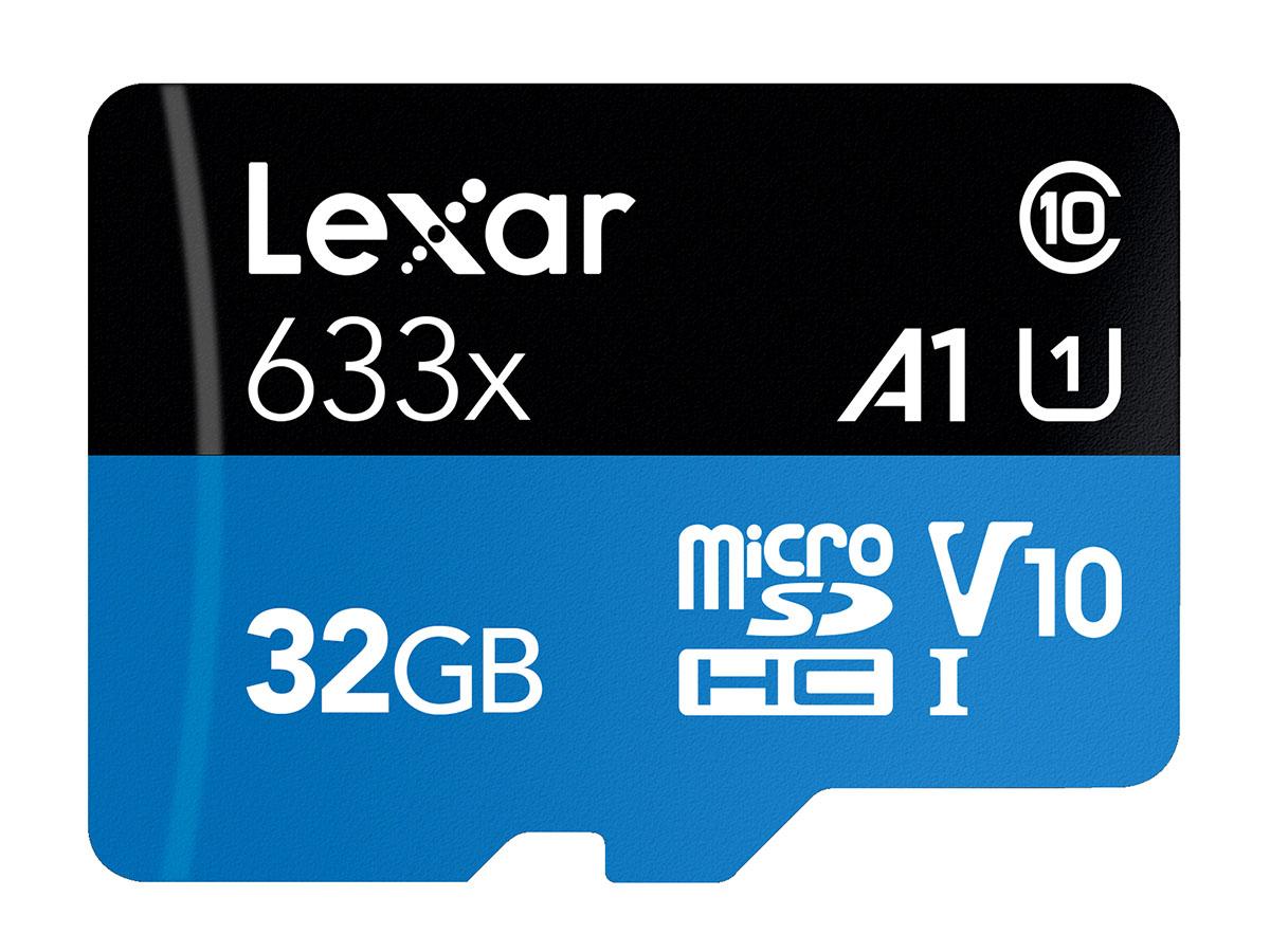 Lexar 32 GB microSDHC Pro 633X UHS-I V10
